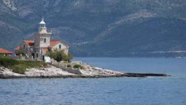 Faro di Sucuraj, Isola di Hvar, Croazia